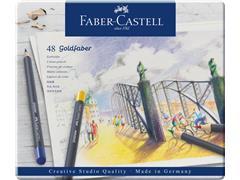 Kleurpotloden Faber Castell Goldfaber set à 48 stuks assorti