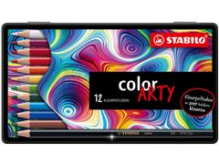 Kleurpotloden STABILO Color Arty blik à 12 stuks