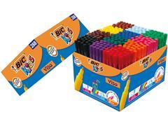 Kleurstift Bic Kids Ecolutions Visacolor Schoolbox 288 stuks assorti