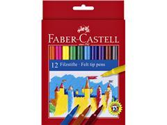 Kleurstift Faber Castell set à 12 stuks assorti