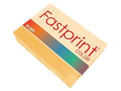 Kopieerpapier Fastprint A4 80gr goudgeel 500vel
