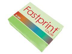 Kopieerpapier Fastprint A4 80gr helgroen 500vel