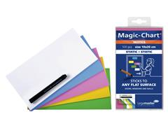 MAGIC-CHART NOTES LEGAMASTER 10X20 GN GL RZ BL WT