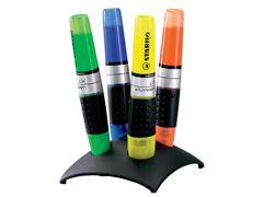 Markeerstift STABILO Luminator 7104-2 bureauset à 4 kleuren