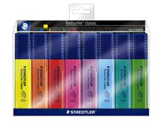 Markeerstift Staedtler 364 Textsurfer assorti 8stuks