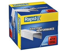 Nieten Rapid 9/14 gegalvaniseerd super strong 5000 stuks