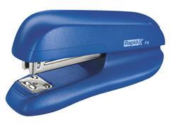 Nietmachine Rapid F6 Halfstrip 20vel 24/6 blauw