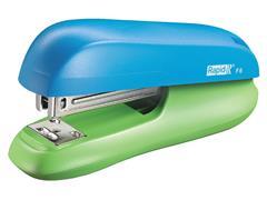 Nietmachine Rapid F6 Halfstrip 20vel 24/6 blauw/groen