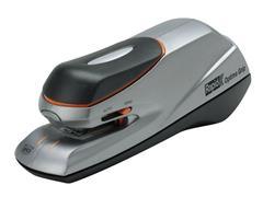 Nietmachine elektrisch Rapid Optima Grip 20vel zilver/zwart