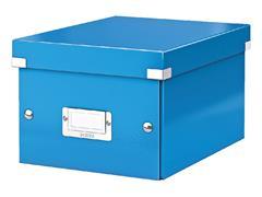 Opbergbox Leitz WOW Click & Store 200x148x250mm blauw
