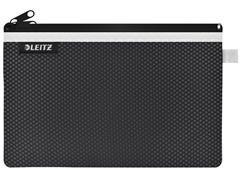 Reisetui Leitz WOW 150x6x230mm 2 vakken zwart