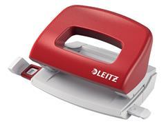 Perforator Leitz NeXXt 5058 2-gaats 10vel rood