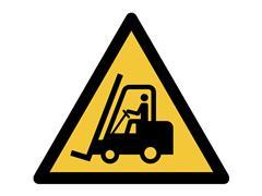 Pictogram Tarifold waarschuwing transportvoertuigen 200x176mm