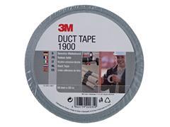 Plakband 3M 1900 Duct Tape 50mmx50m zilver