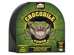 Plakband Pattex Crocodile duct tape 50mmx30m zwart