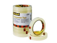 Plakband Scotch 550 15mmx66m transparant