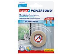 Powerbond Tesa 55743 montagetape transp 19mmx1,5m