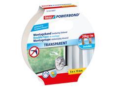Powerbond Tesa 55744 montagetape transp 19mmx5m