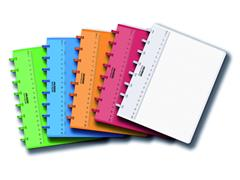 Schrift Adoc Colorlines A5 lijn144blz 90gr PP assorti