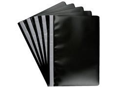 Snelhechter Quantore A4 PP zwart
