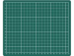 Snijmat A5 230x190mm groen