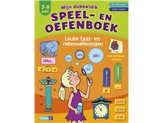 Speel- en oefenboek dubbeldik leuke taal- en rekenoefeningen