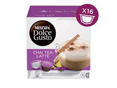 DOLCE GUSTO CHAI TEA LATTE 16 CUPS / 8 DRANKEN