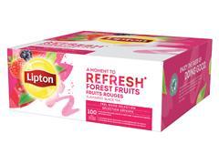 Thee Lipton Refresh Bosvruchten 100stuks