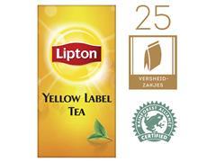 Thee Lipton Yellow label 25stuks