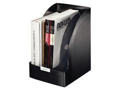 Tijdschriftcassette Leitz Plus jumbo zwart