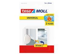 Tochtstrip Tesa Moll 05422 dorpelstrip 38mmx1m wit