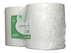 Toiletpapier Euro maxi jumbo 2-laags recyc 380m 6rol