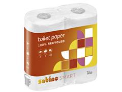 Toiletpapier Satino Smart 2-laags 200vel wit 4rollen