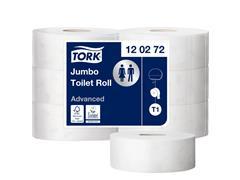 TOILETPAPIER TORK T1 ADVANCED 2LAAGS JUMBO 120272