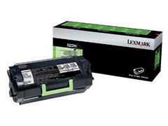 Tonercartridge Lexmark 52D2H00 prebate zwart hc