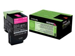 Tonercartridge Lexmark 80C2HM0 prebate rood HC