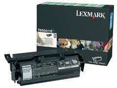 Tonercartridge Lexmark T650A11E prebate zwart