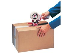 Verpakkingsplakbandhouders