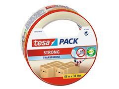 Verpakkingstape Tesa 05042 strong 38mmx66m tranaparant