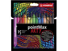 STABILO Pointmax Arty etui 15 stuks