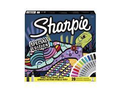 Viltstift Sharpie fun schildpad special edition box à 20 stuks