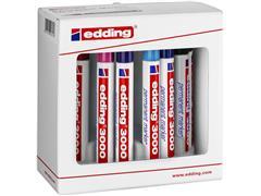 Viltstift edding 3000 rond assorti 1.5-3mm set à 10 stuks