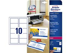 Visitekaart Avery C32016-25 85x54mm 220gr 250stuks