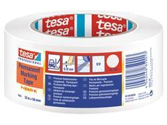Vloermarkeringstape Tesa 04169 50mmx30m wit