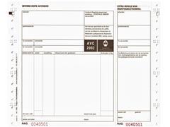Vrachtbrief Budget BVA 1562 240x200mm 4voud 100stuks