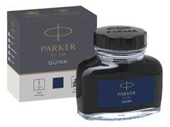 Vulpeninkt Parker Quink permanent 57ml blauw/zwart