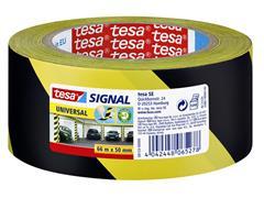 WAARSCHUWINGSTAPE TESA 58133 50MMX66M GEEL/ZWART