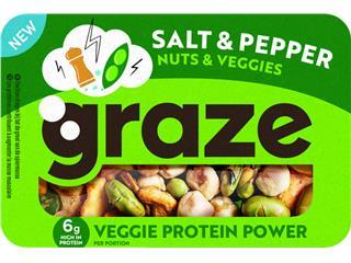 Graze Punnet Salt and Pepper 28g 6x