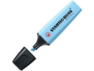 Markeerstift Stabilo Boss 70/112 pastel luchtig bl
