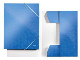 Elastomap Leitz WOW 3-kleps A4 karton